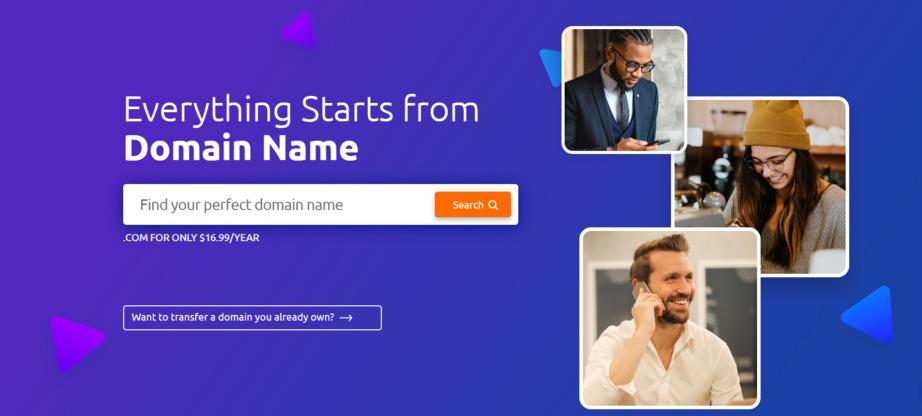 choose a relaible domain platform