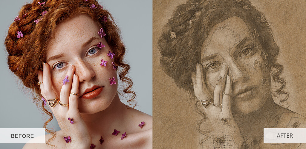 how-to-turn-photo-into-sketch-in-photoshop-before-after