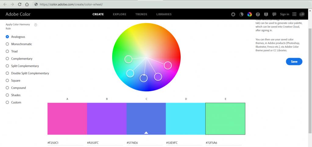 Adobe colors cc