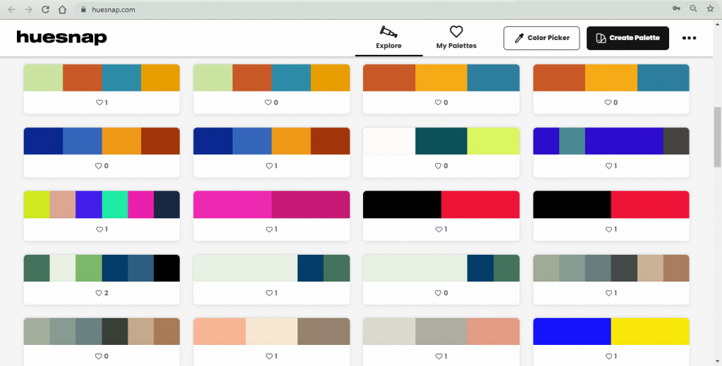Huesnap - Color Tools For Web Designers